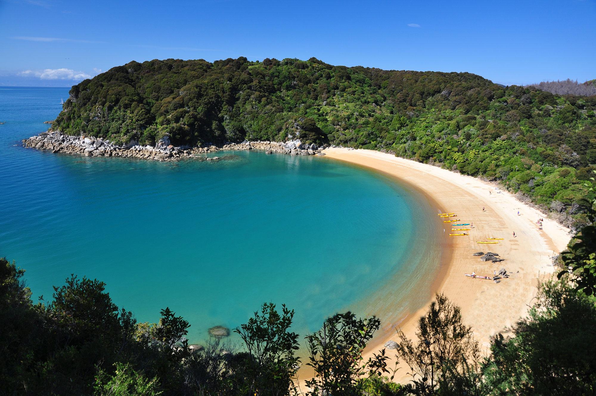 Te Puketea Bay