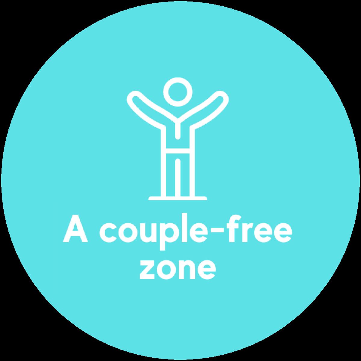 A couple-free zone